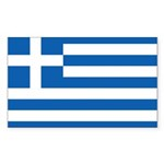 Greece Sticker (Rectangle 10 pk)