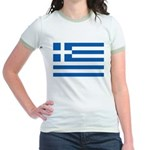 Greece Jr. Ringer T-Shirt