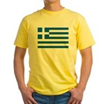 Greece Yellow T-Shirt