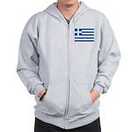 Greece Zip Hoodie