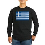 Greece Long Sleeve Dark T-Shirt