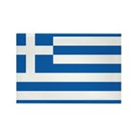 Greece Rectangle Magnet (100 pack)