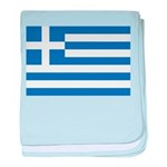 Greece baby blanket