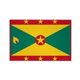 Grenada Rectangle Magnet (100 pack)