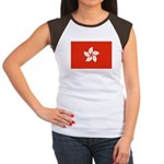 Hong Kong Women's Cap Sleeve T-Shirt