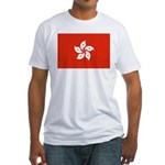 Hong Kong Fitted T-Shirt