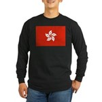 Hong Kong Long Sleeve Dark T-Shirt
