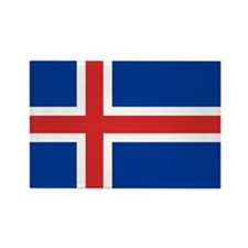 Iceland Rectangle Magnet (100 pack)