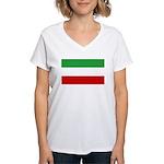 Iran Women's V-Neck T-Shirt
