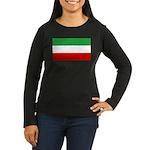 Iran Women's Long Sleeve Dark T-Shirt