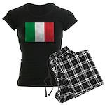 Italy Women's Dark Pajamas