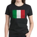 Italy Women's Dark T-Shirt