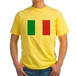 Italy Yellow T-Shirt