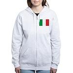 Italy Women's Zip Hoodie