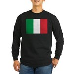 Italy Long Sleeve Dark T-Shirt
