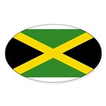 Jamaica Sticker (Oval 10 pk)