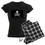 Jolly Roger Women's Dark Pajamas