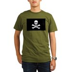 Jolly Roger Organic Men's T-Shirt (dark)