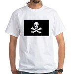 Jolly Roger White T-Shirt