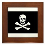 Jolly Roger Framed Tile