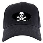 Jolly Roger Black Cap