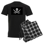 Calico Jack Rackham Jolly Rog Men's Dark Pajamas