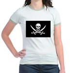 Calico Jack Rackham Jolly Rog Jr. Ringer T-Shirt