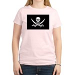Calico Jack Rackham Jolly Rog Women's Light T-Shir