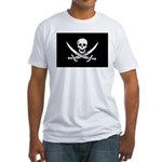 Calico Jack Rackham Jolly Rog Fitted T-Shirt