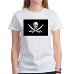 Calico Jack Rackham Jolly Rog Women's T-Shirt