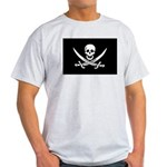 Calico Jack Rackham Jolly Rog Light T-Shirt