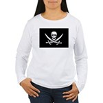Calico Jack Rackham Jolly Rog Women's Long Sleeve