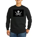 Calico Jack Rackham Jolly Rog Long Sleeve Dark T-S