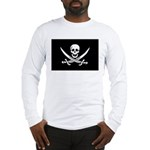 Calico Jack Rackham Jolly Rog Long Sleeve T-Shirt