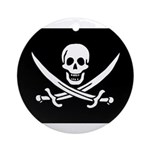 Calico Jack Rackham Jolly Rog Ornament (Round)