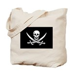 Calico Jack Rackham Jolly Rog Tote Bag