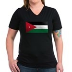 Jordan Women's V-Neck Dark T-Shirt