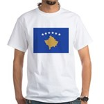 Kosovo White T-Shirt