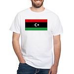 Libya White T-Shirt