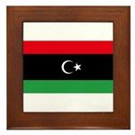 Libya Framed Tile