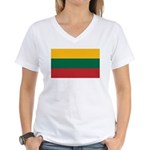 Lithuania Women's V-Neck T-Shirt
