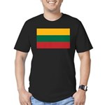 Lithuania Men's Fitted T-Shirt (dark)