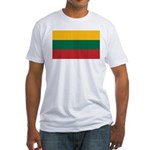 Lithuania Fitted T-Shirt
