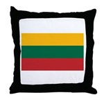 Lithuania Throw Pillow