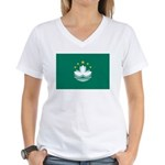 Macau Women's V-Neck T-Shirt