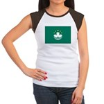 Macau Women's Cap Sleeve T-Shirt