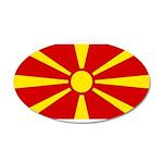 Macedonia 22x14 Oval Wall Peel