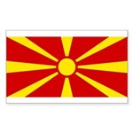 Macedonia Sticker (Rectangle 50 pk)