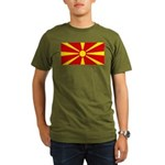 Macedonia Organic Men's T-Shirt (dark)