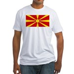 Macedonia Fitted T-Shirt